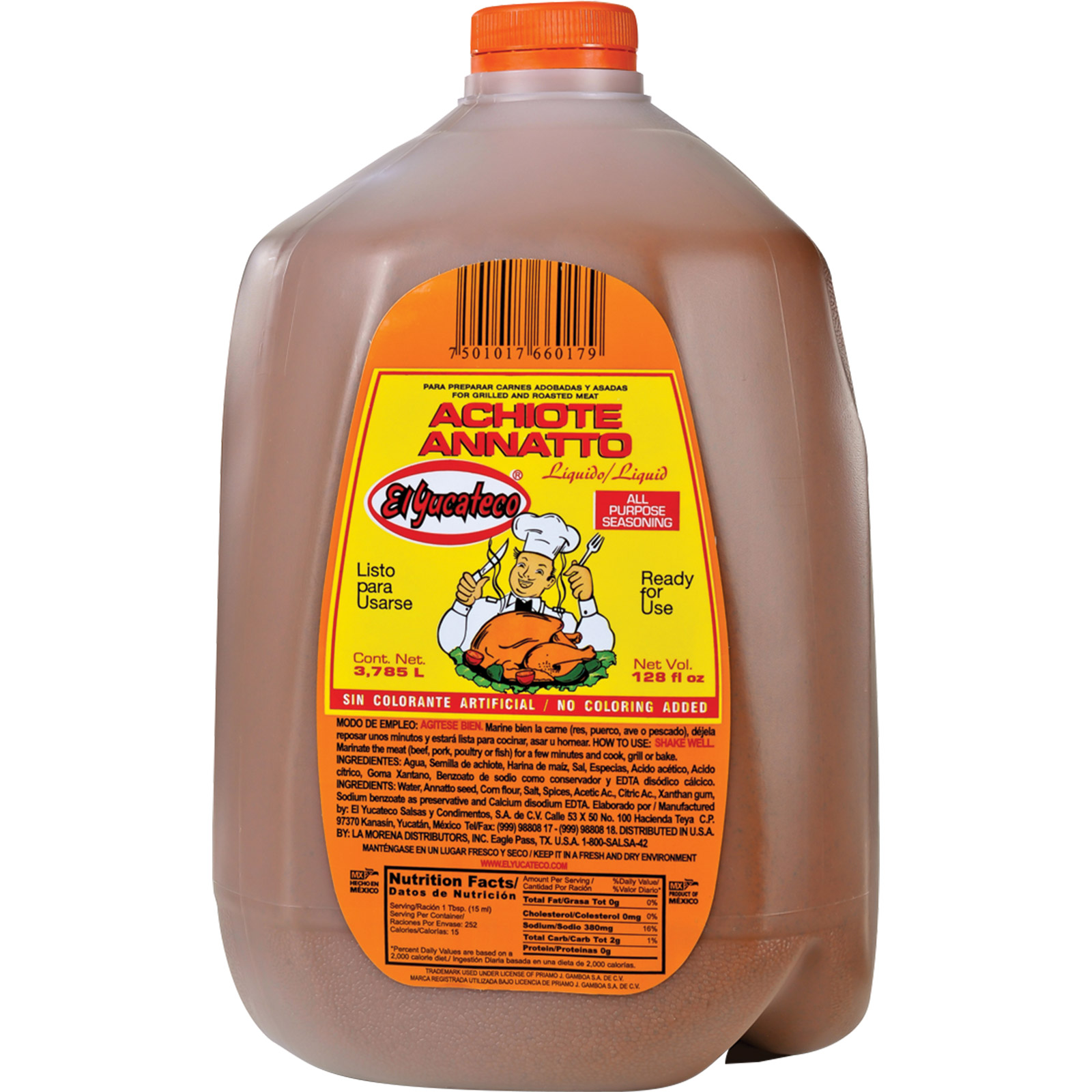 Achiote liquid
